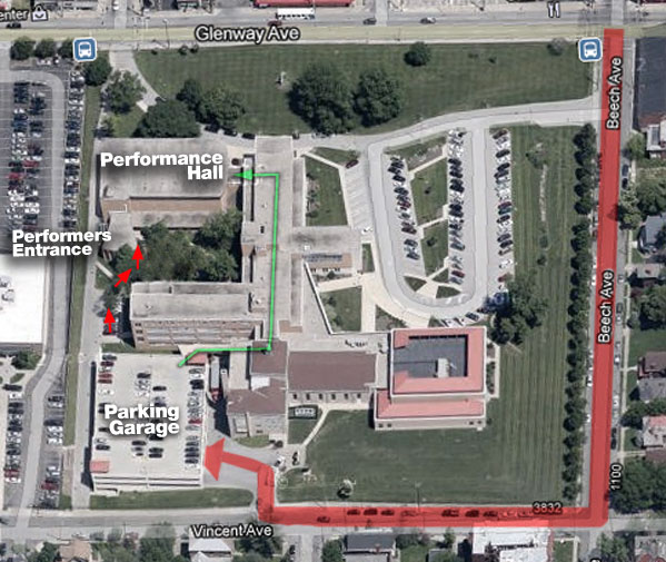 Directions To Seton Concerts And Rehearsals Cincinnati